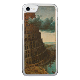 The Little Tower of Babel by Pieter Bruegel Carved iPhone 7 Case
