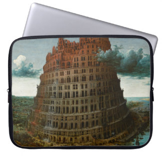 The Little Tower of Babel by Pieter Bruegel Computer Sleeves