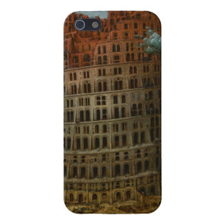 The Little Tower of Babel by Pieter Bruegel iPhone 5 Covers