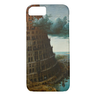 The Little Tower of Babel by Pieter Bruegel iPhone 7 Case
