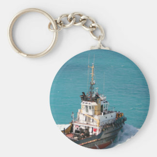 The Little Tug That Could keychain