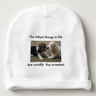 The littlest things in life baby beanie