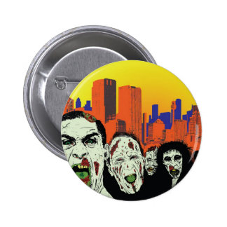 The living dead zombies 2 inch round button