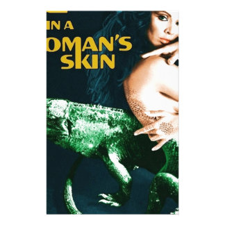 The Lizard in the Woman's Skin, vintage horror Stationery