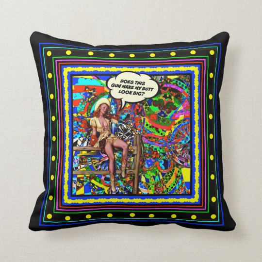 The Loaded Question Throw Pillow
