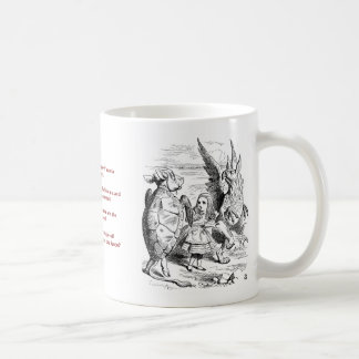 The Lobster Quadrille Mug, Alice in Wonderland Coffee Mug