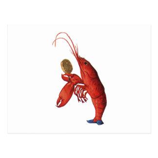The Lobster Quadrille Postcard