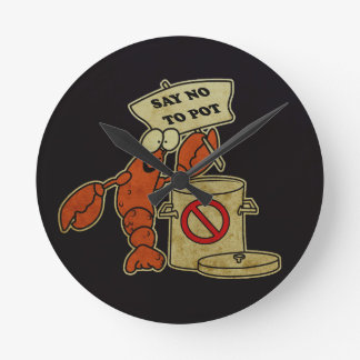 The Lobster Round Clock