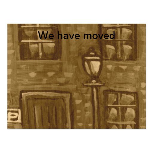 The lodging house Postcard (We have moved)