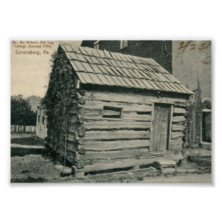 The Log Cabin 1906 Poster