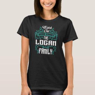 The LOGAN Family. Gift Birthday T-Shirt