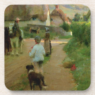 The Loiterers, 1888 (oil on canvas) Coaster