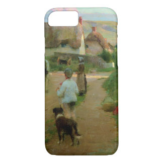 The Loiterers, 1888 (oil on canvas) iPhone 7 Case