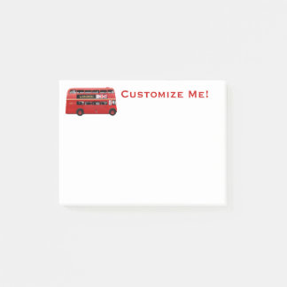 The London Bus Post-it Notes