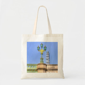 The London Eye And Westminster Bridge Budget Tote Bag