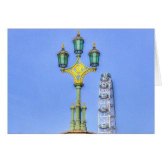 The London Eye And Westminster Bridge Card