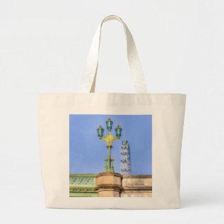 The London Eye And Westminster Bridge Jumbo Tote Bag