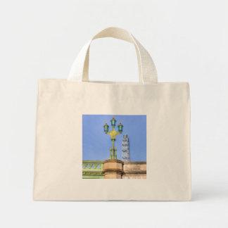 The London Eye And Westminster Bridge Mini Tote Bag