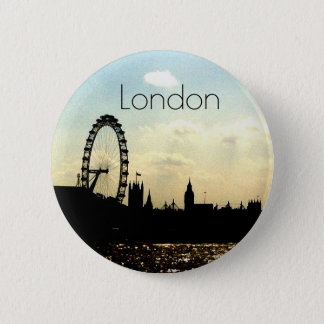 The London Eye Badge 2 Inch Round Button