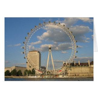 The London Eye - blank NoteCard