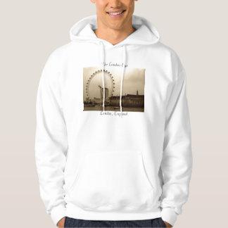 The London Eye, London, England hoodie
