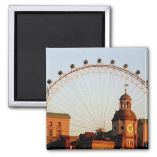 The London Eye Square Magnet