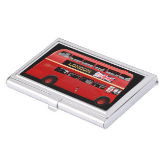 The London Red Bus Business Card Holder