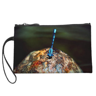 The Lone Dragonfly Wristlet Purse