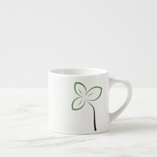 The Lone Flower Espresso Cup