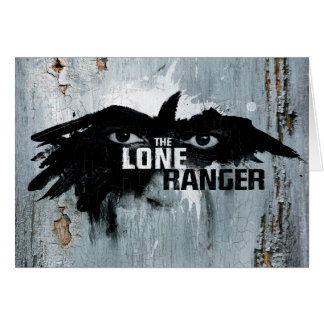 The Lone Ranger Logo with Mask 2 Card