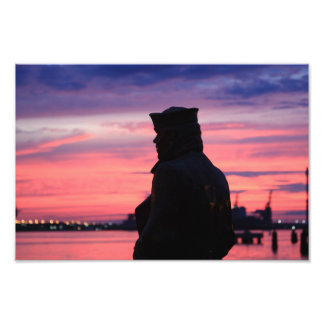 The Lone Sailor Photographic Print
