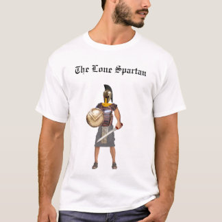 The Lone Spartan T-Shirt