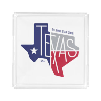 The Lone Star State Acrylic Tray