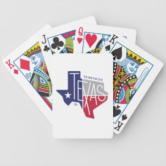 The Lone Star State Bicycle Playing Cards