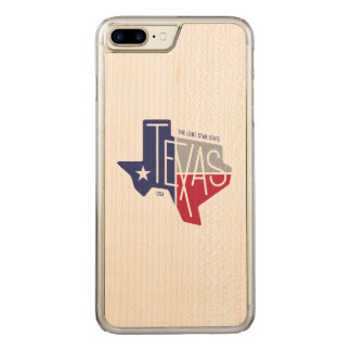The Lone Star State Carved iPhone 7 Plus Case