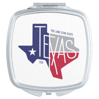 The Lone Star State Mirror For Makeup