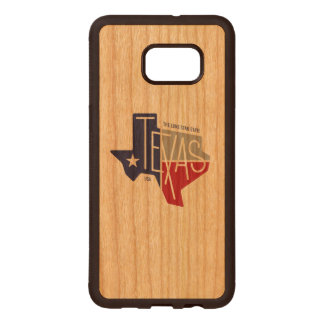 The Lone Star State Wood Samsung Galaxy S6 Edge Case