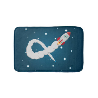 The Lonely Astronaut Bath Mat