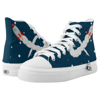 The Lonely Astronaut High Tops
