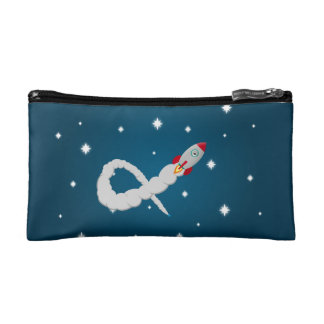 The Lonely Astronaut Makeup Bag