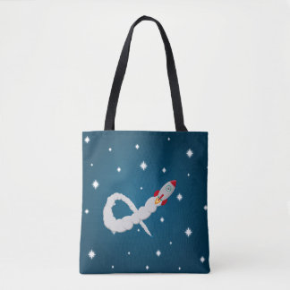 The Lonely Astronaut Tote Bag