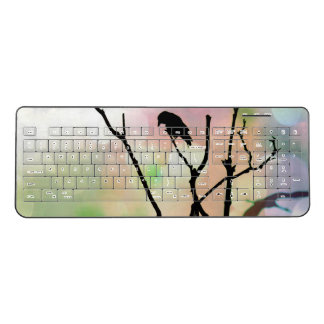 The Lonely Crow Wireless Keyboard