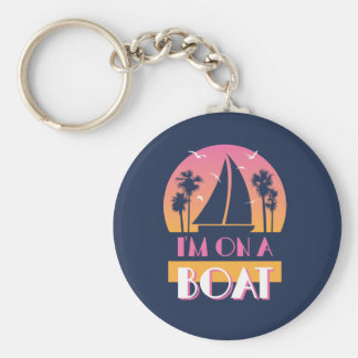 The Lonely Island - I'm On A Boat Keychain