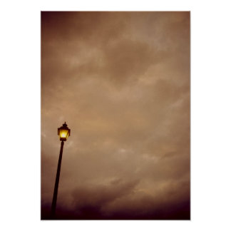 The Lonely Lamppost Poster