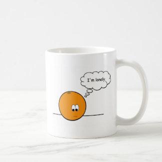 The Lonely Orange Coffee Mug