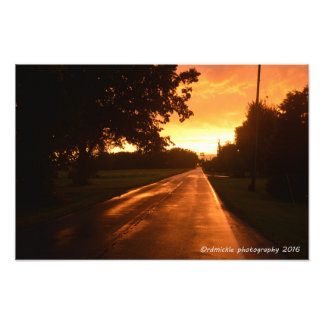 The Lonely Road Photographic Print