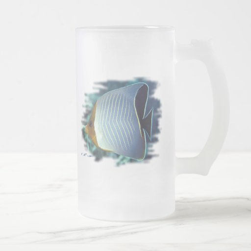 The Loner-Butterfly Fish Coffee Mugs