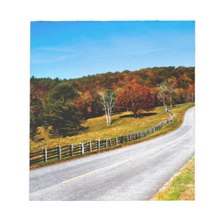 The long and winding Road Notepad