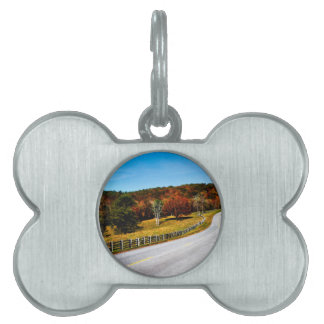 The long and winding Road Pet Name Tag