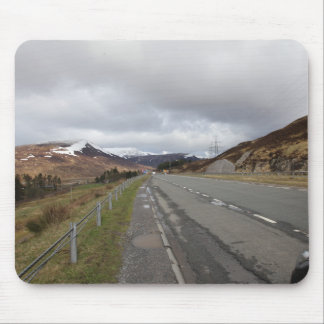 The long highland road mouse pad